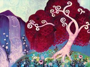 Crimson King Falls by Natasha Wescoat