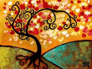 Lush Blossom Tree by Natasha Wescoat