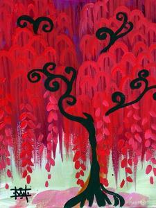 Red Tree I by Natasha Wescoat