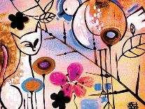 Koi and Cherry Blossoms-Natasha Wescoat-Giclee Print