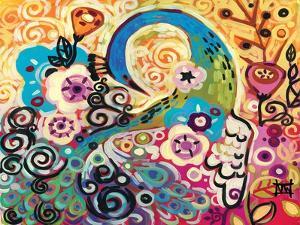 Turquoise Plume by Natasha Wescoat