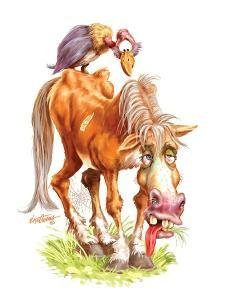 Get Well Old Horse by Nate Owens