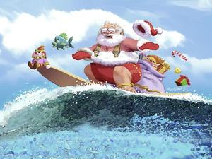 Santa's Vacation by Nate Owens