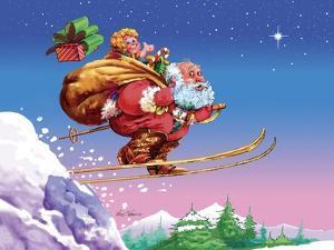 Santa Ski by Nate Owens