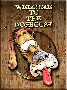 Welcome to the Dog House by Nate Owens