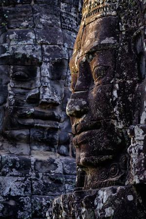 Bayon Temple, Built in 12th to 13th Century by King Jayavarman Vii, Angkor