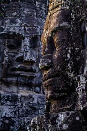 Bayon Temple, Built in 12th to 13th Century by King Jayavarman Vii, Angkor by Nathalie Cuvelier