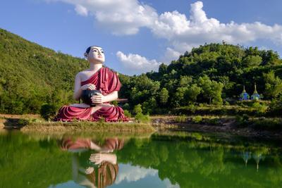 Buddha Win Sein, Mawlamyine (Moulmein), Myanmar (Burma), Asia