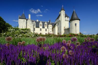 Castle of Rivau, Dated 15th Century, Lemere, Indre Et Loire, Touraine, Loire Valley, France, Europe