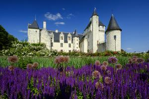 Castle of Rivau, Dated 15th Century, Lemere, Indre Et Loire, Touraine, Loire Valley, France, Europe by Nathalie Cuvelier