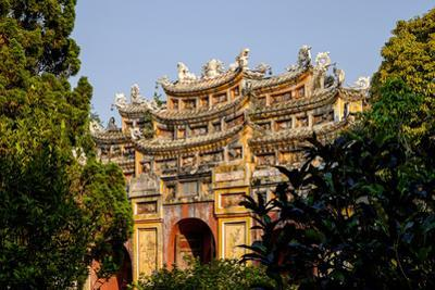 Chuong Duc Gate, Forbidden City in Heart of Imperial City