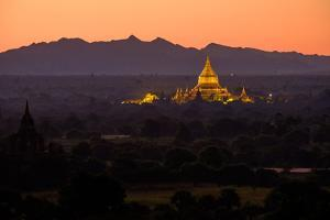 Dhammayazika Buddhist Temple, Bagan (Pagan), Myanmar (Burma), Asia by Nathalie Cuvelier