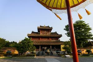 Hien Lam Pavilion, Forbidden City in Heart of Imperial City by Nathalie Cuvelier