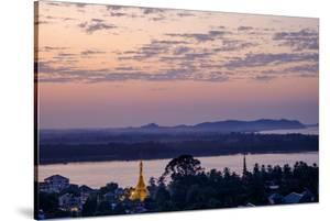River Salouen (Thanlwin) from View Point, Mawlamyine (Moulmein), Myanmar (Burma), Asia by Nathalie Cuvelier