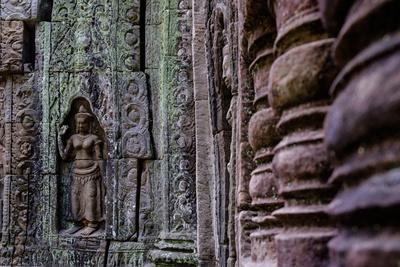 Ta Som Temple, Built in 12th Century by King Jayavarman Vii, Angkor