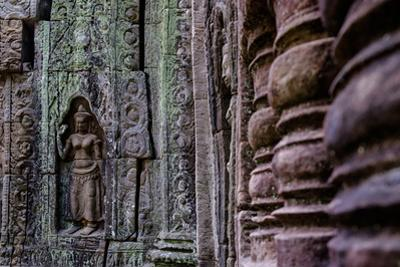 Ta Som Temple, Built in 12th Century by King Jayavarman Vii, Angkor by Nathalie Cuvelier