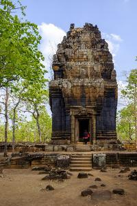 Temple of Prasat Neang Khmau, Dated 9th to 12th Century, Temple Complex of Koh Ker by Nathalie Cuvelier