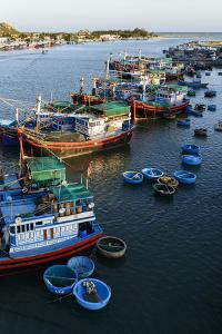 The Fishing Port, Phan Rang, Ninh Thuan Province, Vietnam, Indochina, Southeast Asia, Asia by Nathalie Cuvelier