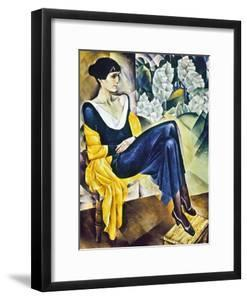 Anna Akhmatova (1889-1967) by Nathan Isaevich Altman