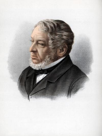 Nathan Rothschild, 1st Baron Rothschild, British Banker and Politician, C1890-Petter & Galpin Cassell-Giclee Print