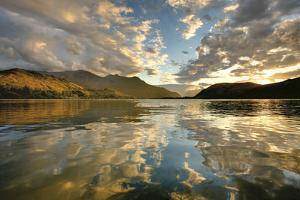Sunset Over Lake Hayes by Nathan Secker
