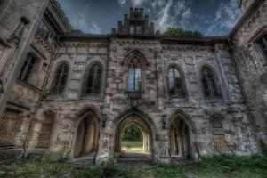 Haunted Exterior of Building by Nathan Wright
