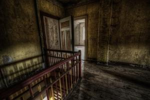 Haunted Interior Landing by Nathan Wright