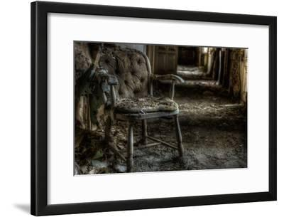 Haunted Interior with Chair