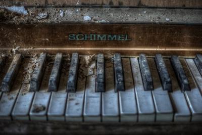 Haunted Interior with Piano
