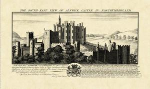 Vintage Alnwick Castle by Nathaniel Buck