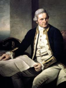 Portrait of Captain James Cook, 1775-76 by Nathaniel Dance-Holland