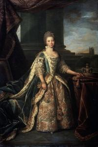 Portrait of Charlotte of Mecklenburg-Strelitz, Wife of King George III of England, 1773 by Nathaniel Dance-Holland