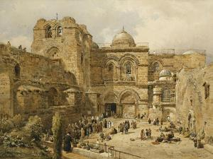 The Church of the Holy Sepulchre, Jerusalem by Nathaniel Everett Green