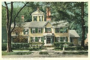 Nathaniel Hawthorne Home, Concord