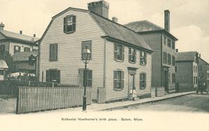 Nathaniel Hawthorne's Birth Place, Salem, Massachusetts
