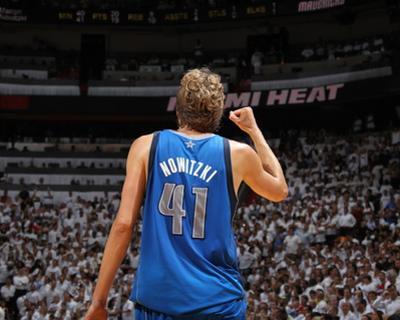 Dallas Mavericks v Miami Heat - Game Two, Miami, FL - JUNE 02: Dirk Nowitzki