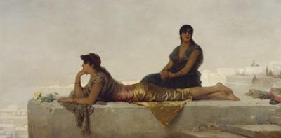 Arab Women on a Rooftop by Nathaniel Sichel