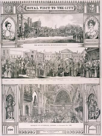 Queen Victoria's Visit to the City of London, 1837