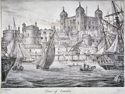 Tower of London, 1829