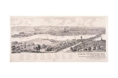 View of London from Southwark, 1543