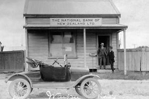 National Bank, Waipu, C.1900