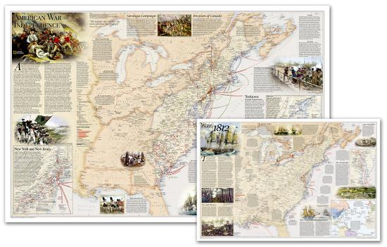 National Geographic - Battles of the Revolutionary War and War of ...
