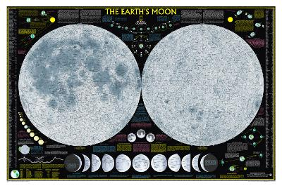 National Geographic Earth's Moon--Poster
