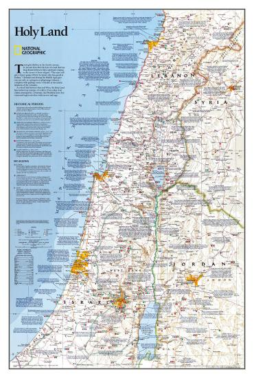 National Geographic Holy Land--Poster