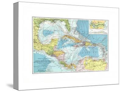 1913 Central America, Cuba, Porto Rico, and the Islands of the Caribbean Sea
