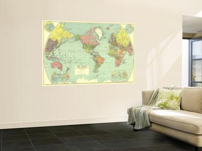 1932 World Map