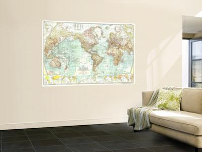 1957 World Map