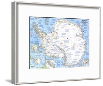 1963 Antarctica Map