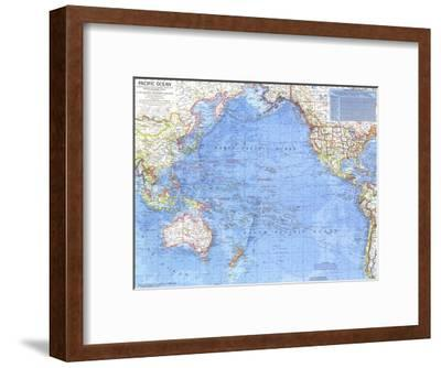 1969 Pacific Ocean Map