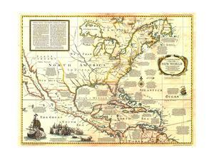 1977 Colonization and Trade in New World by National Geographic Maps